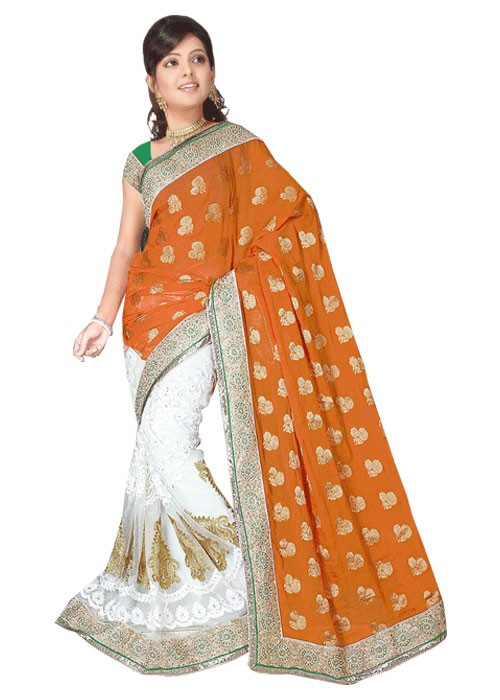 HALF N HALF HEAVY BORDE SAREE