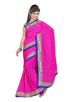DIAMOND BORDER DORI WORK SAREE
