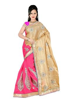 SUPER NET - JUTE SAREE