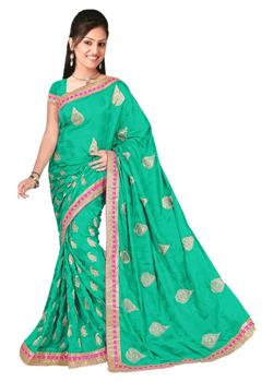 CUTTING WORK PATCH WORK BORDER SAREE