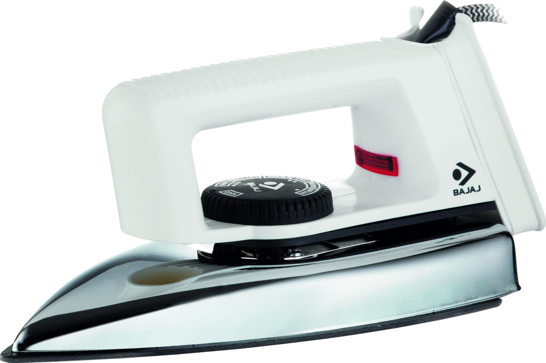 BAJAJ POPULAR 750 W DRY IRON (WHITE)