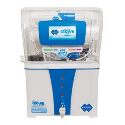BLUE MOUNT CROWN STAR BM 55 12 LITER WATER PURIFIER (WHITE/BLUE)