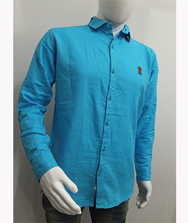 BOWBARI MENS SOLID CASUAL SHIRT