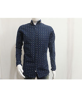 BOWBARI PRINTED CASUAL SHIRT