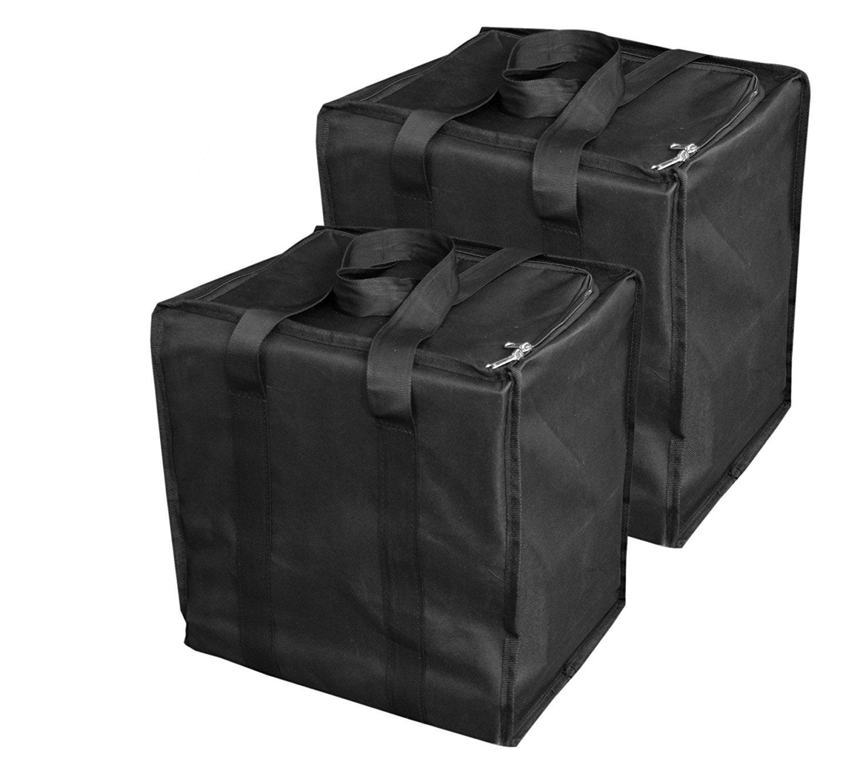 2 Pack Storage Organizer - Black