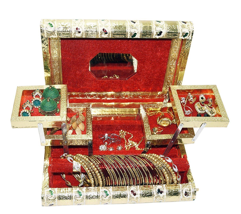 Meenakari Jewellery box (11x8)