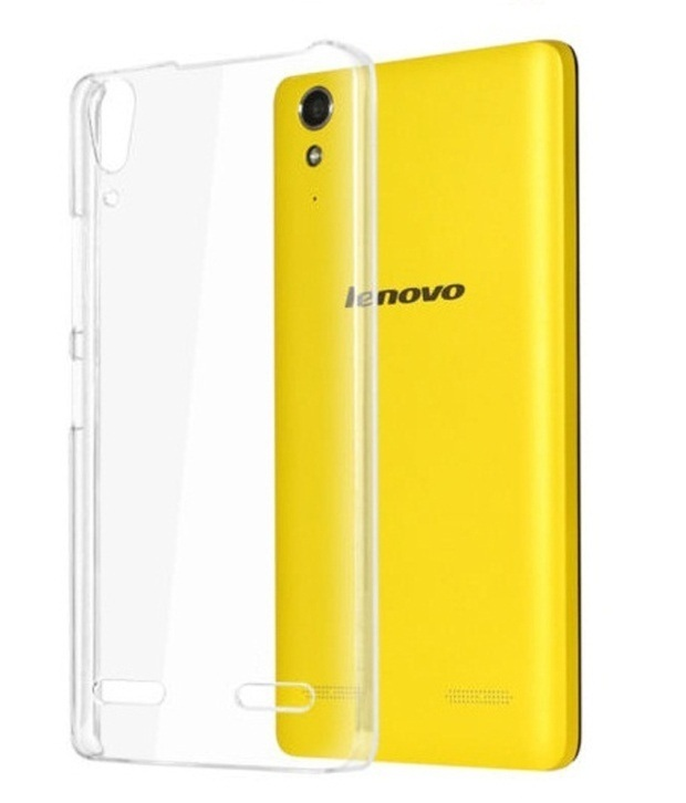 SNAPTIC ULTRA PLAIN TRANSPARENT SOFT BACK COVER FOR LENOVO A6000
