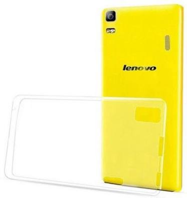 SNAPTIC ULTRA PLAIN TRANSPARENT SOFT BACK COVER FOR LENOVO A7000