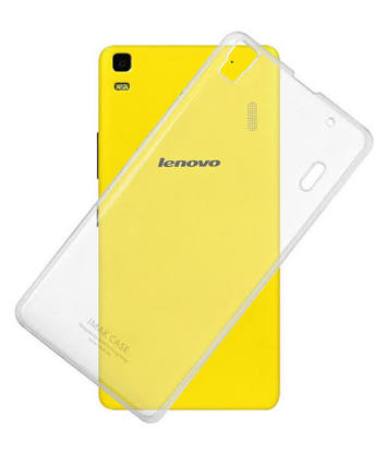 SNAPTIC ULTRA PLAIN TRANSPARENT SOFT BACK COVER FOR LENOVO K3 NOTE