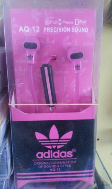 ADDIDAS AQ-12 STYLISH EAREPHONE WITH MIC PRECIAN SOUND