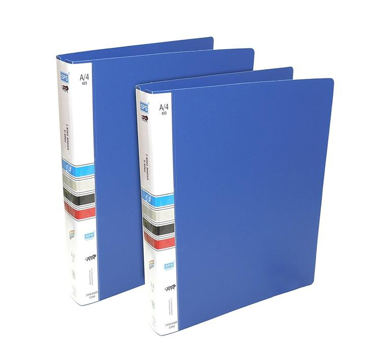Binder File - 2 Pack- Blue