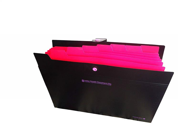 8 Pocket File Folder Multi