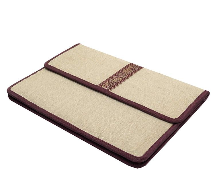 Canvas fabric file folder