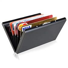 Card Holder- Shiny Black