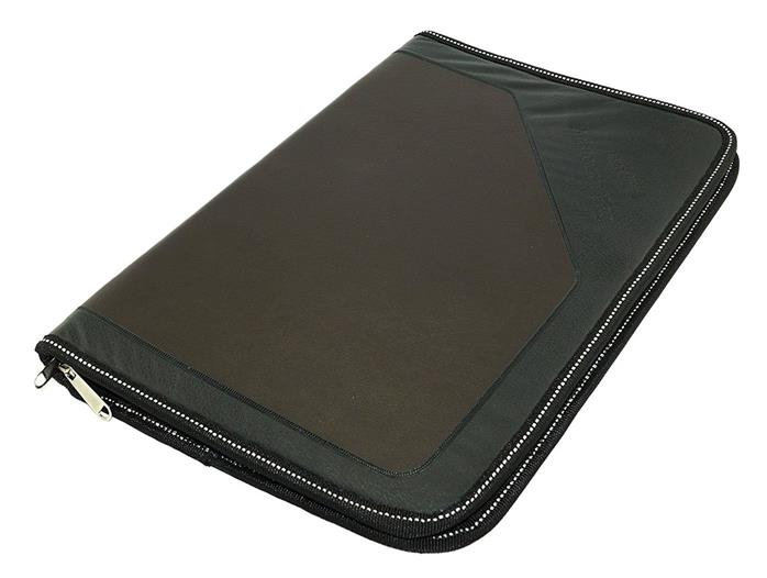 Coffee File Folder With 12 Sleeve