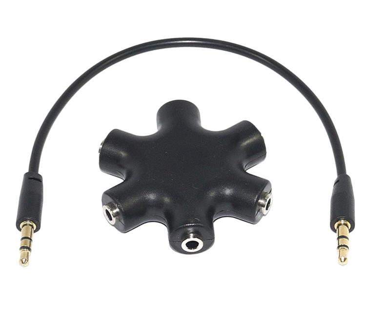 3.5mm jack splitter Rockstar