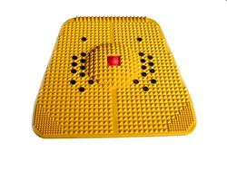 NEW ACUPRESSURE POWER MAT WITH MAGNETS PYRAMIDS FOR PAIN RELIEF MAGNETIC THERAPY