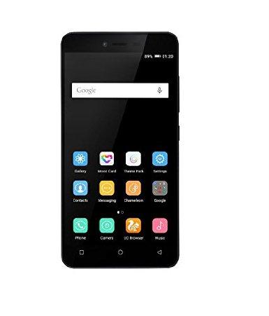 GIONEE P5L SMARTPHONE BLACK