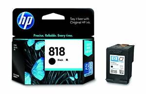 HP CC636ZZ 818B BLACK INK CARTRIDGE