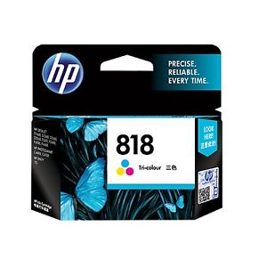 HP CC643ZZ 818 TRI-COLOR INK CARTRIDGE