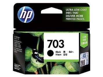 HP CD887AA 703 BLACK INK CARTRIDGE