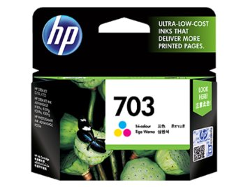 HP CD888AA 703 TRI COLOR INK CARTRIDGE