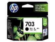 HP CD887AA 703 BLACK INK CARTRIDGE