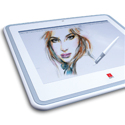 IBALL 12INCH/9INCH 1024 LEVEL TABLET WITH CORDLESS MOUSE AND PEN