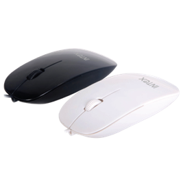 Intex Mouse Piano black / white USB