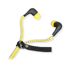 Intex Ear Phone Zipper