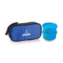Joyo Fresherware Airtight Happy Lunch Set - Blue, 2 pcs