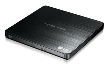 LG ULTRA SLIM EXTERNAL DVD WRITER (BLACK)