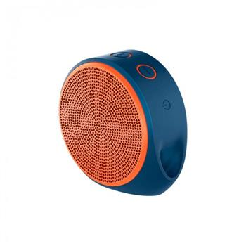 LOGITECH X-100 WIRELESS BLUETOOTH SPEAKERS (ORANGE)