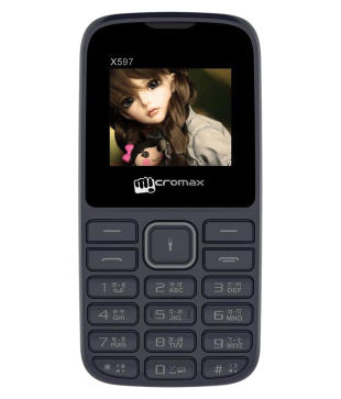 MICROMAX X597 (BLACK)