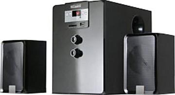 Mitashi 2.1 SUB WOOFER SYSTEM, 2700 W PMPO, DIGITIAL FM RADIO/MMC/USB/REMOTE