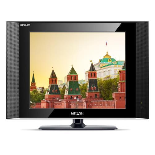 Mitashi 15 Inch MiE015v01 LED TV, black