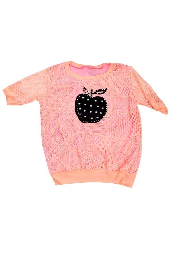 Designer Pink Apple design  Top