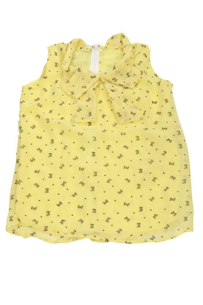 Designer Yellow Top