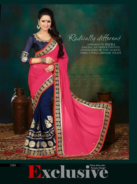 Designer Heavy Border work Saree