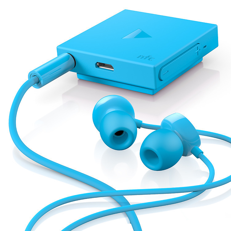 NOKIA BH-111 IN-EAR BLUETOOTH HEADSET (CYAN)