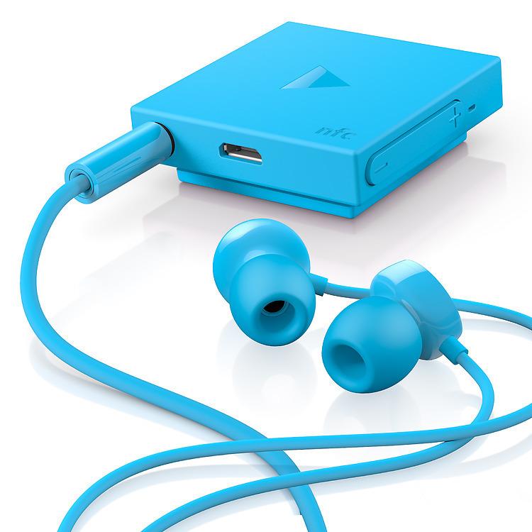 NOKIA BH-111 IN-EAR BLUETOOTH HEADSET (CYAN)