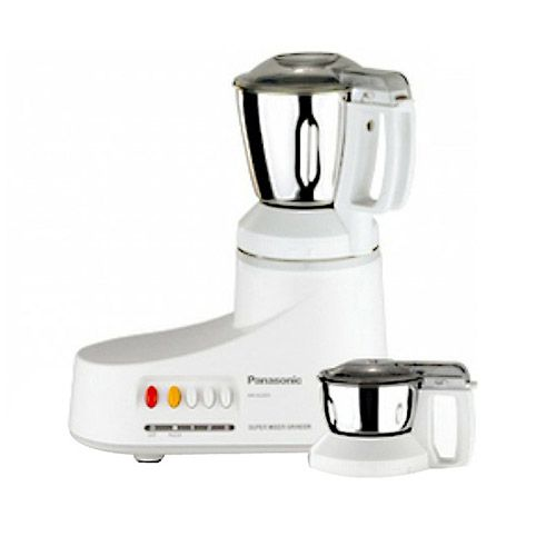 Panasonic MX-AC220 550-Watt 2-Jar Super Mixer Grinder (Grey)