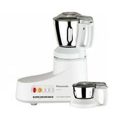 Panasonic MX-AC220 550-Watt 2-Jar Super Mixer Grinder (Grey)