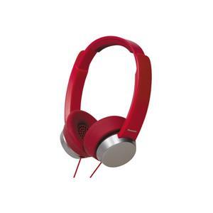 Panasonic RP-HXD3E-R On-Ear Headphone (RED)