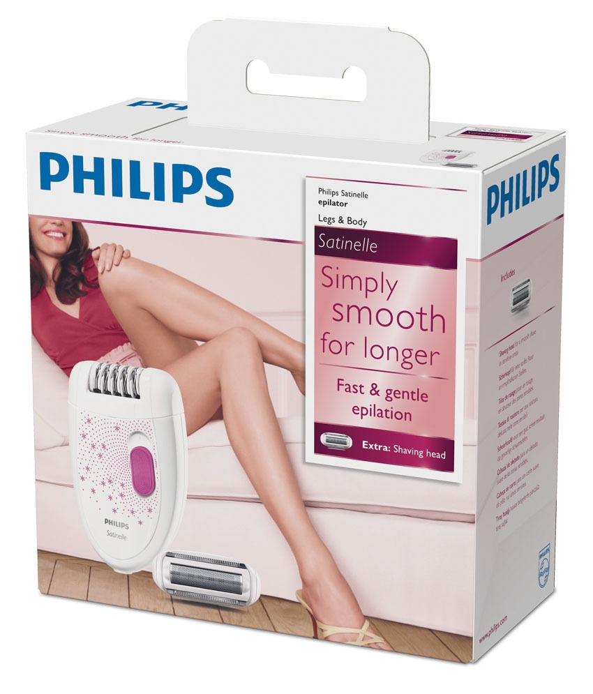 PHILIPS SATINELLE HP6419/02 EPLATOR (PINK)