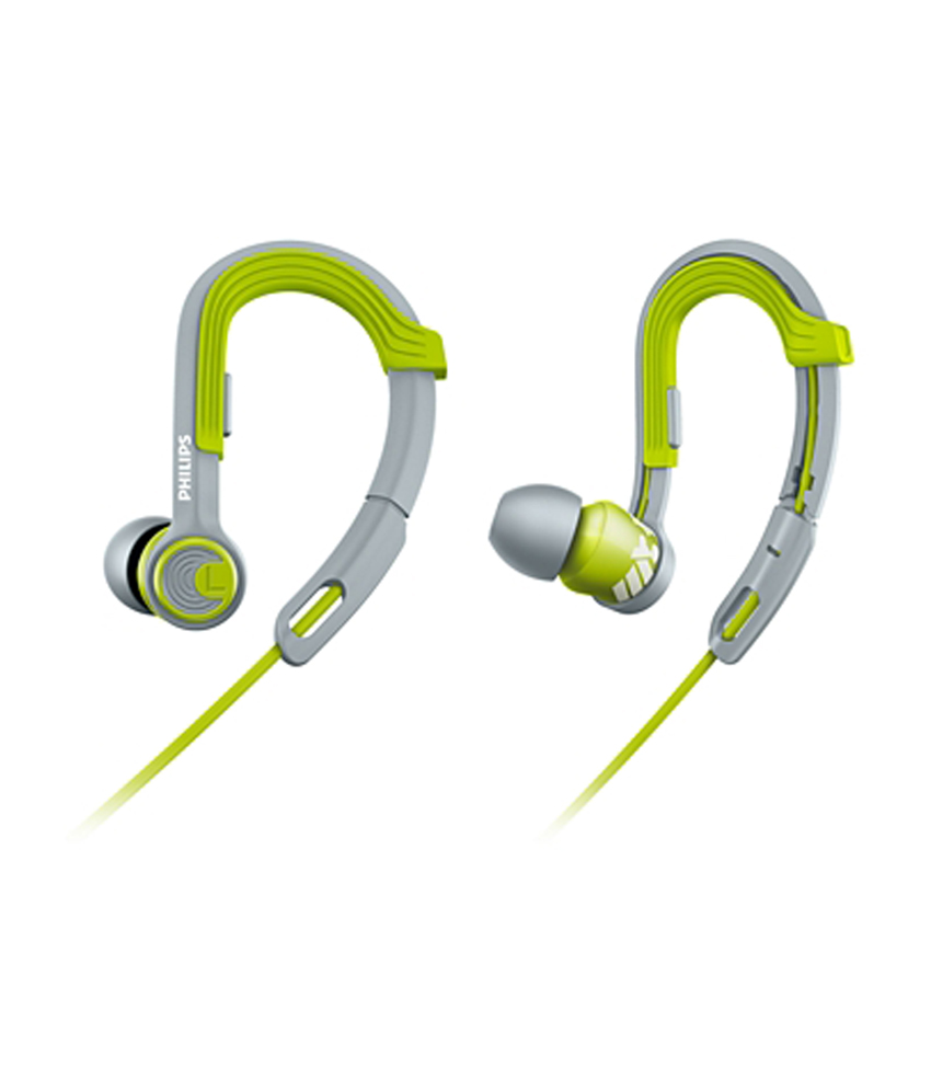 Philips ActionFit SHQ3300LF/00 In the Ear Headphone (Lime)