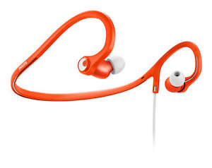 Philips SHQ4300 ActionFit Sports In-Ear Headphones (Orange)
