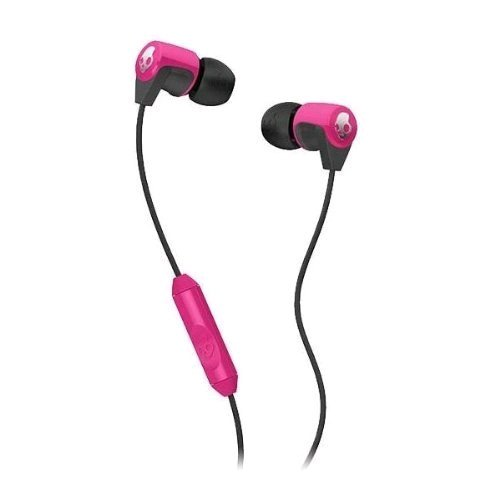 Skullcandy S2RFDA-134 Riff Headphone with Mic (Pink)