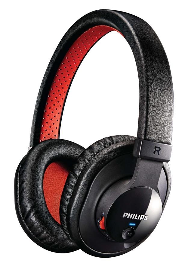 PHILIPS SHB7000 OVER-EAR BLUETOOTH HEADSET (BLACK)