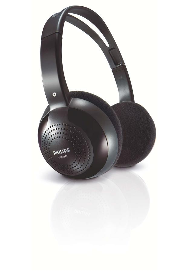 PHILIPS SHC-1300/10 ON -EAR HEADPHONES